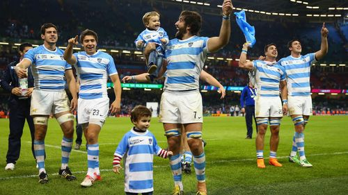 RWC 2015: Ireland v Argentina quarter-final