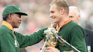 On this day in 1995: Mandela, Williams and Pienaar help unite South Africa