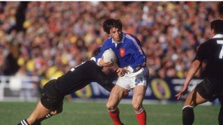 Philippe Sella of France - RWC 1987 Final