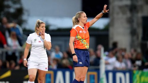 Joy Neville - Rugby World Cup 2017