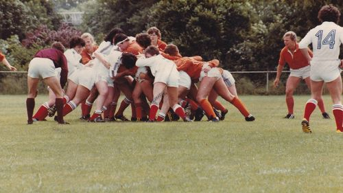 13 June, 1982: first women's international match France v Netherlands
