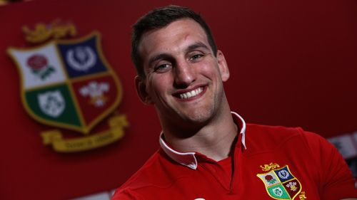 Sam Warburton - Lions captain