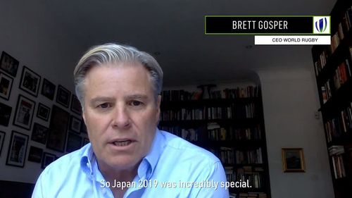 World Rugby Chief Executive Brett Gosper on Economic impact of Rugby World Cup 2019