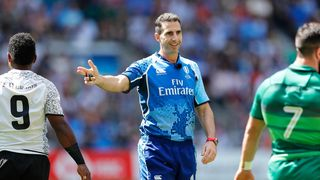 World Rugby Referee Talent Development Coach Craig Joubert