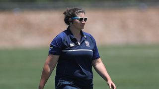 USA Women's assistant coach Kate Daley