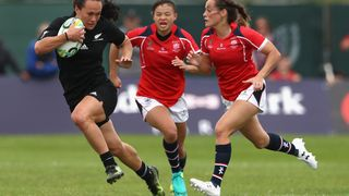 RWC 2017 - New Zealand v Hong Kong, Portia Woodman