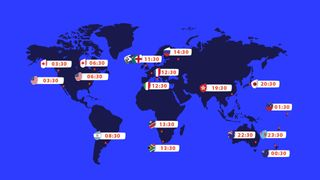 Rugby World Cup 2023 live draw - Time zones