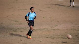 Photo of Madagascan referee and World Rugby Women's Executive Leadership Scholarship recipient Ando Niaina Herimahefa