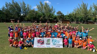Cayman Islands Rugby Club girls camp