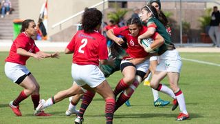 Action from Arab Sevens 2021