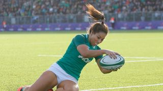 Sene Naoupu scores try for Ireland
