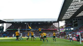 Australia v Uruguay at Villa Park, Rugby World Cup 2015