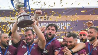 Rugby Europe Championship 2021 winners