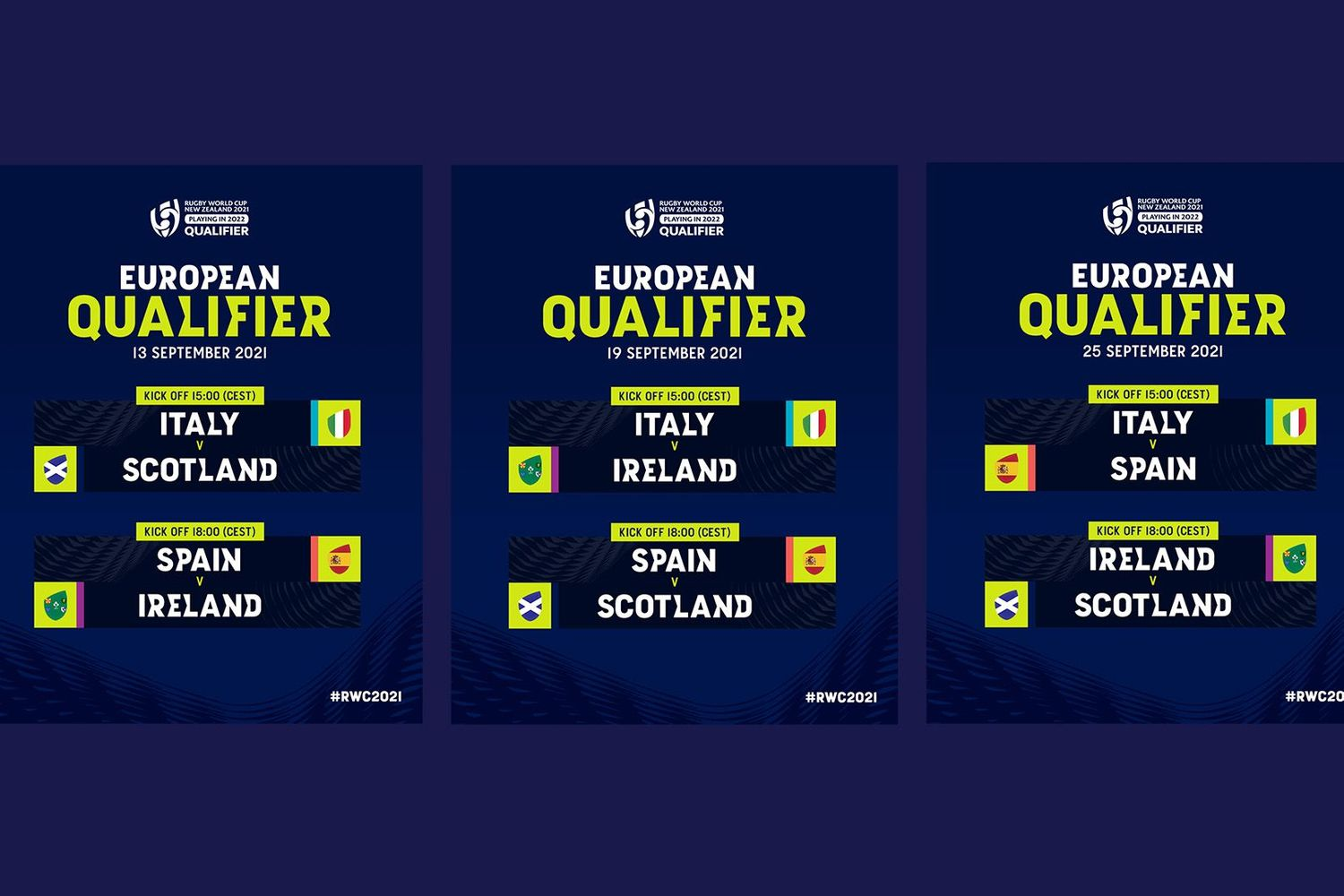Rugby World Cup 2021 - European qualifying