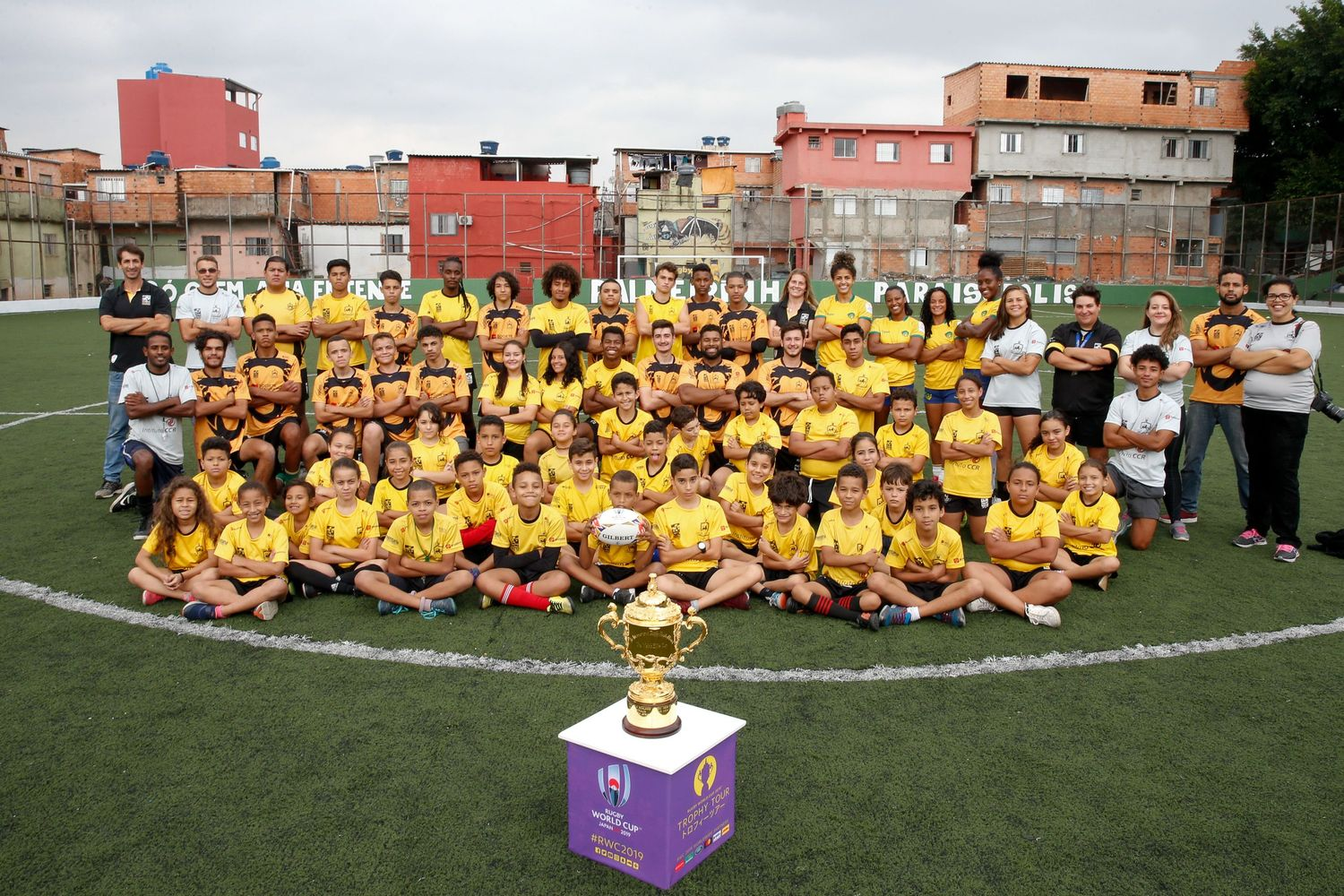 Rugby World Cup 2019 Trophy Tour - Brazil: Day Two