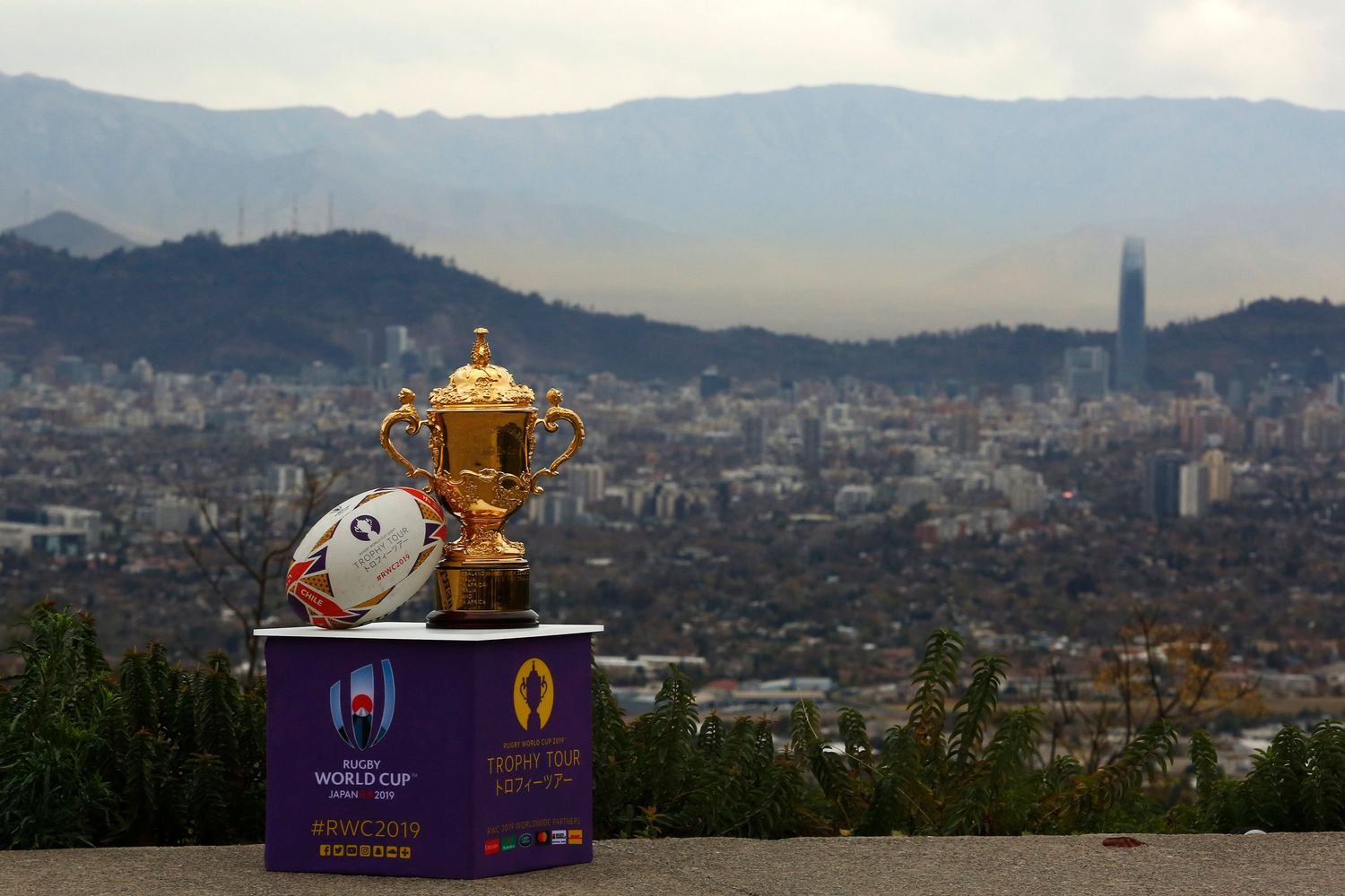 Rugby World Cup 2019 Trophy Tour - Chile: Day One