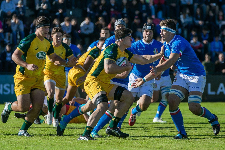 World Rugby U20 Championship 2019: Australia v Italy