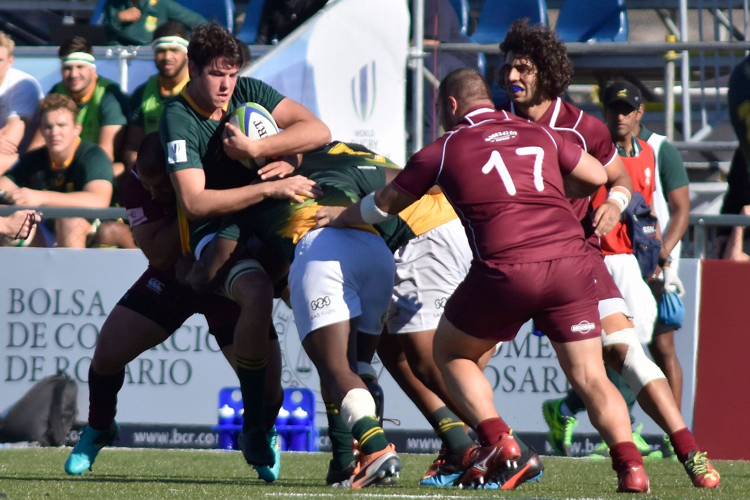 World Rugby U20 Championship 2019: South Africa v Georgia