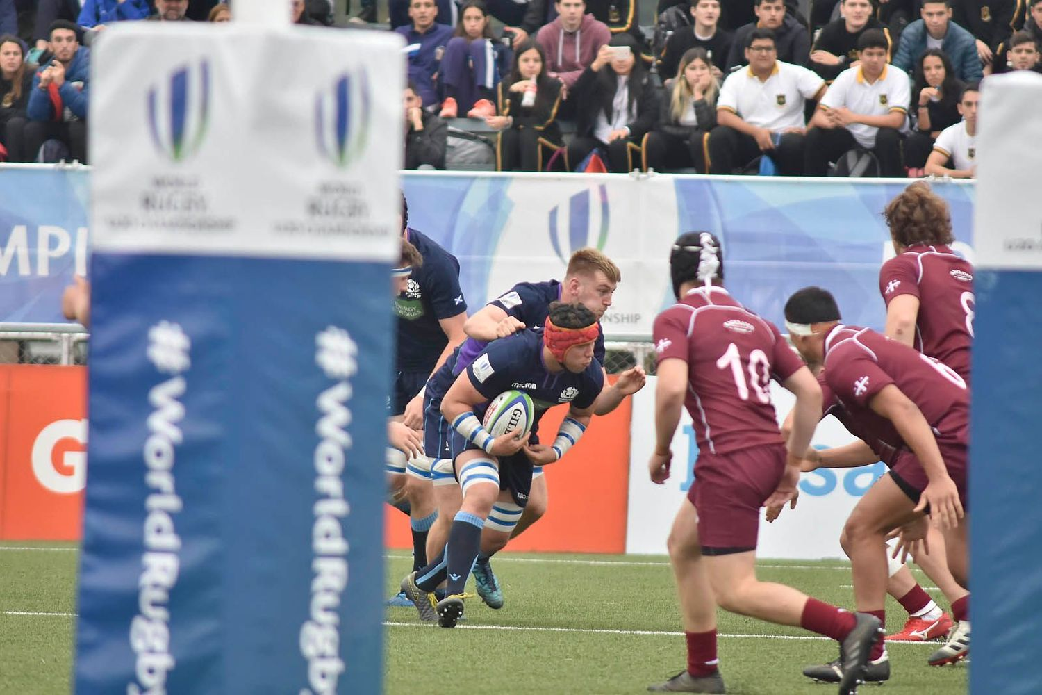 World Rugby U20 Championship 2019: Georgia v Scotland