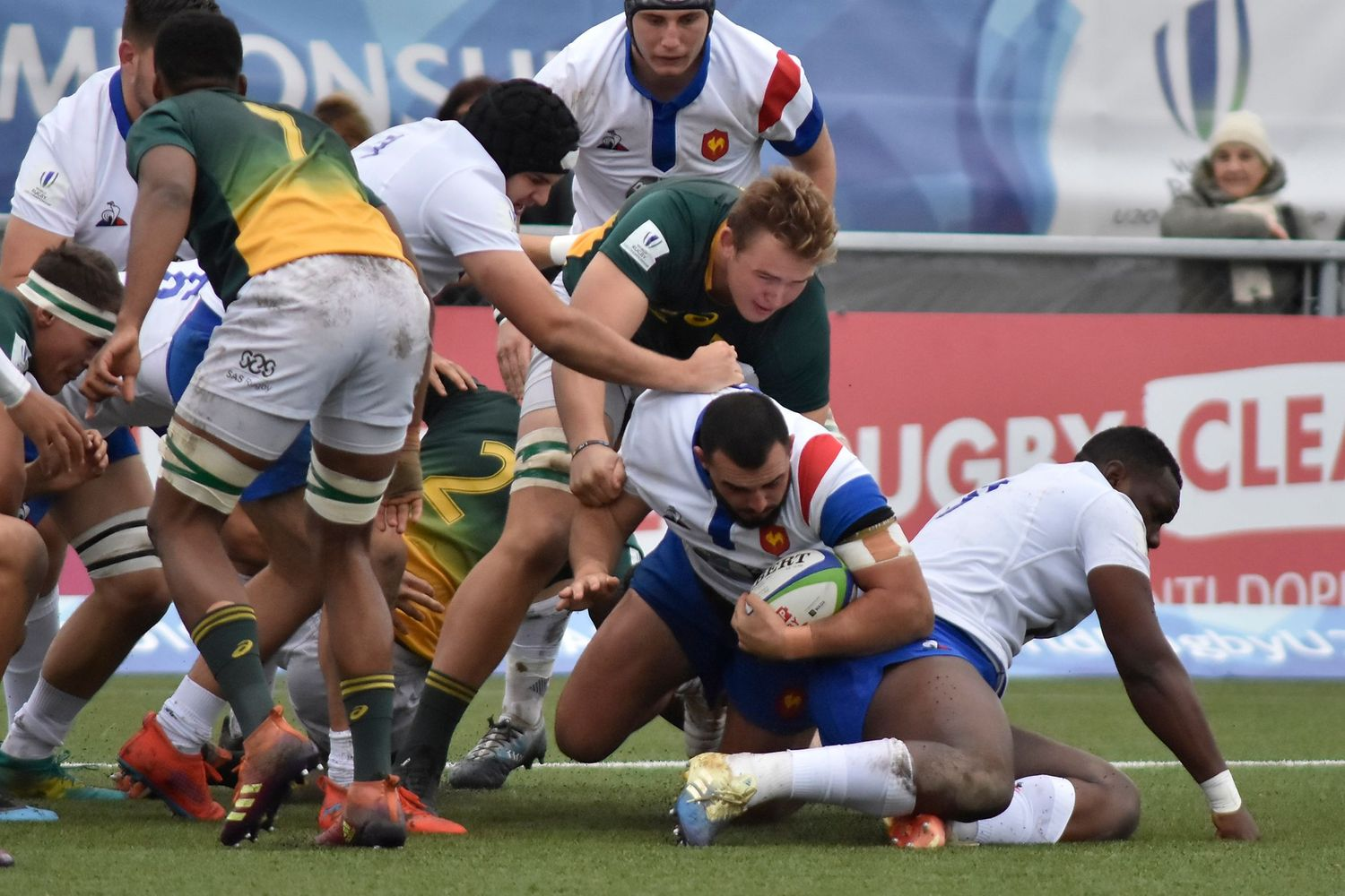 World Rugby U20 Championship 2019: South Africa v France
