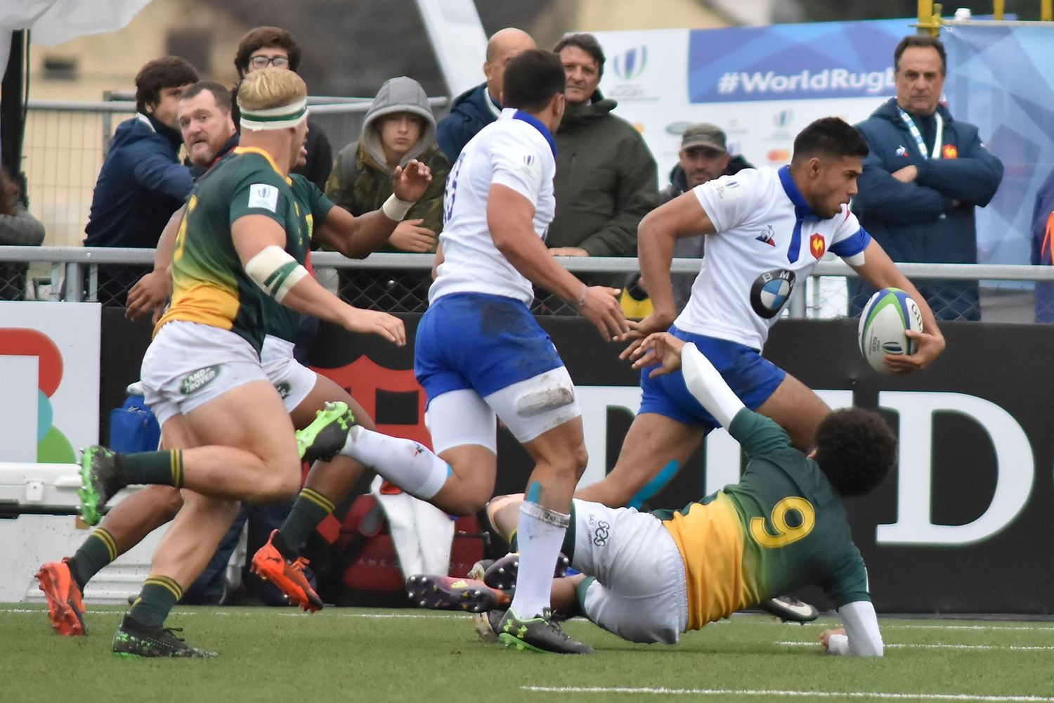 World Rugby U20 Championship 2019: South Africa v Francee