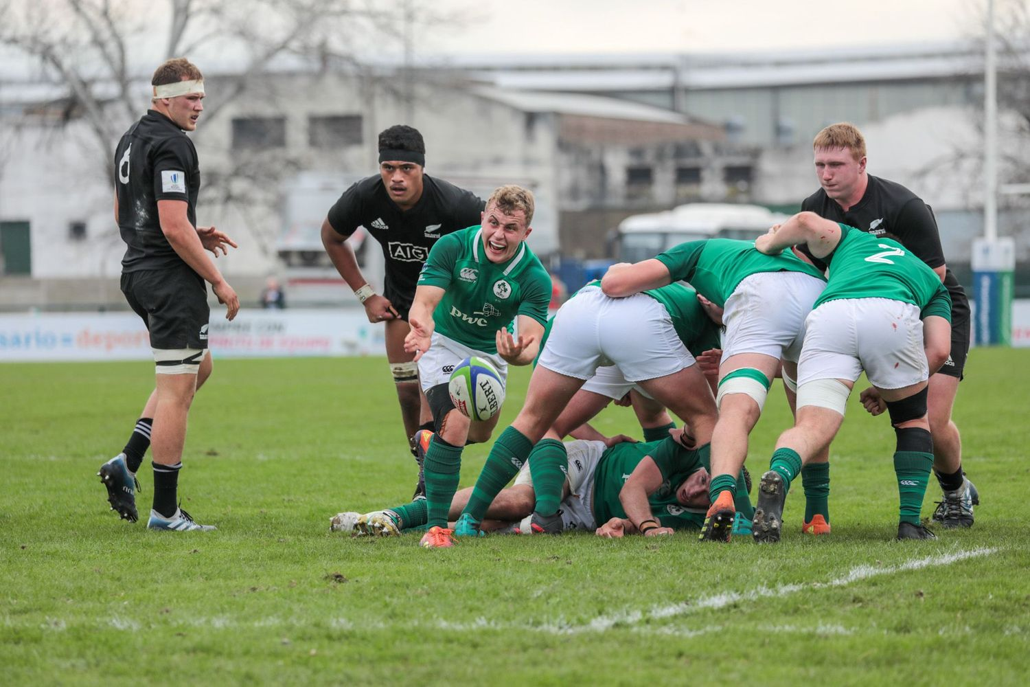World Rugby U20 Championship 2019: Ireland v New Zealand