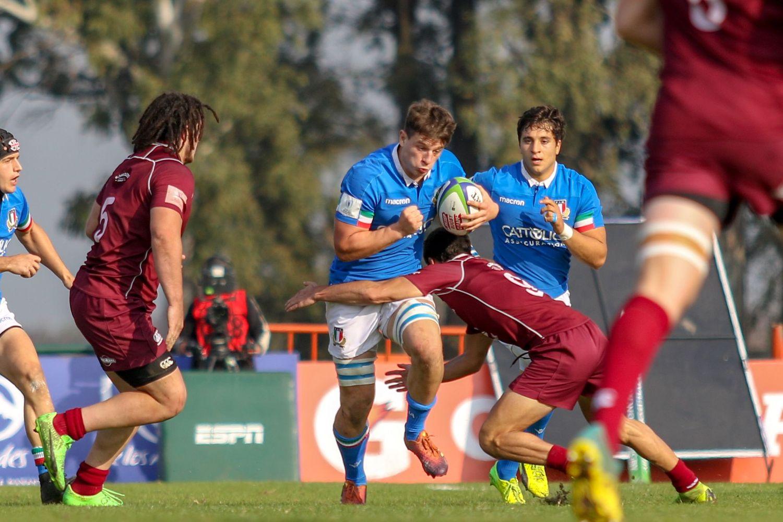 World Rugby U20 Championship 2019: Italy v Georgia