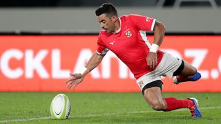 Tonga's Kurt Morath in action