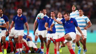 Camille Lopez of France v Argentina - Rugby World Cup 2019: Group C