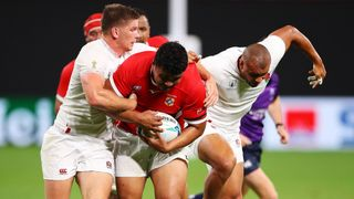 Siua Maile England v Tonga - Rugby World Cup 2019: Group C