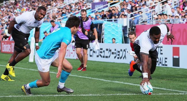 Fiji v Uruguay - Rugby World Cup 2019: Pool D