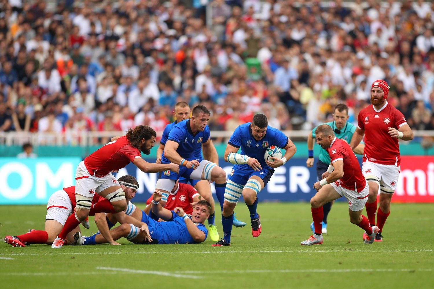 Italy v Canada - Rugby World Cup 2019: Group B
