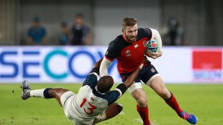 Elliot Daly in action for England against USA