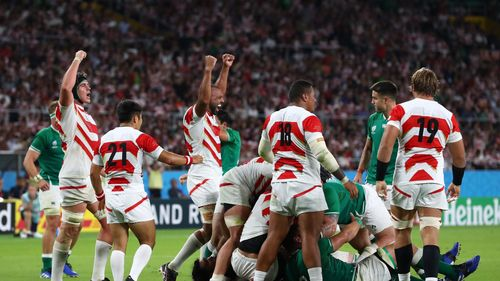 Japan v Ireland - Rugby World Cup 2019: Group A