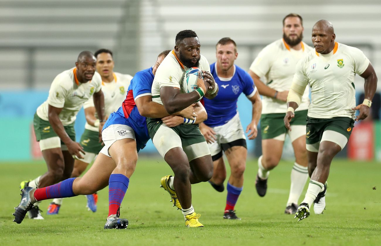 Erasmus Deploys Beast Mode As Springboks Shuffle Pack For