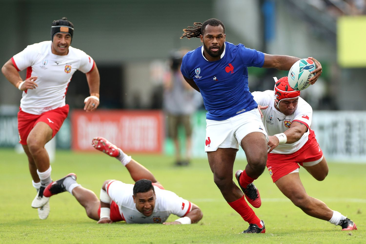 France v Tonga - Rugby World Cup 2019: Pool C