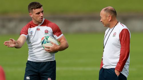 England Media Access: George Ford and coach Eddie Jones