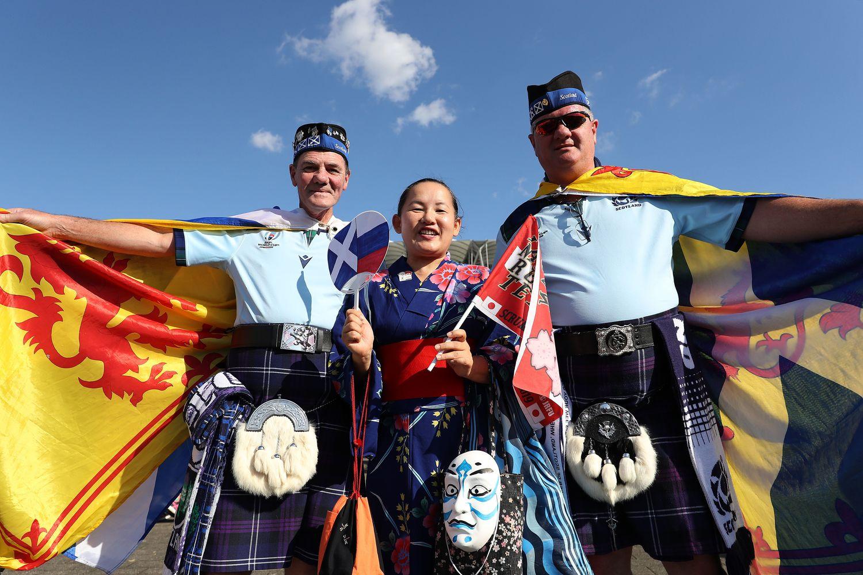 Escocia vs Rusia - Rugby World Cup 2019: Grupo A