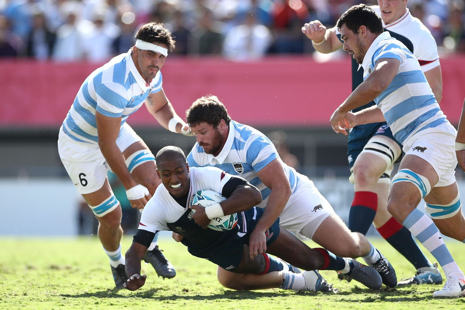 Argentina vs EE.UU. - Rugby World Cup 2019: Grupo C