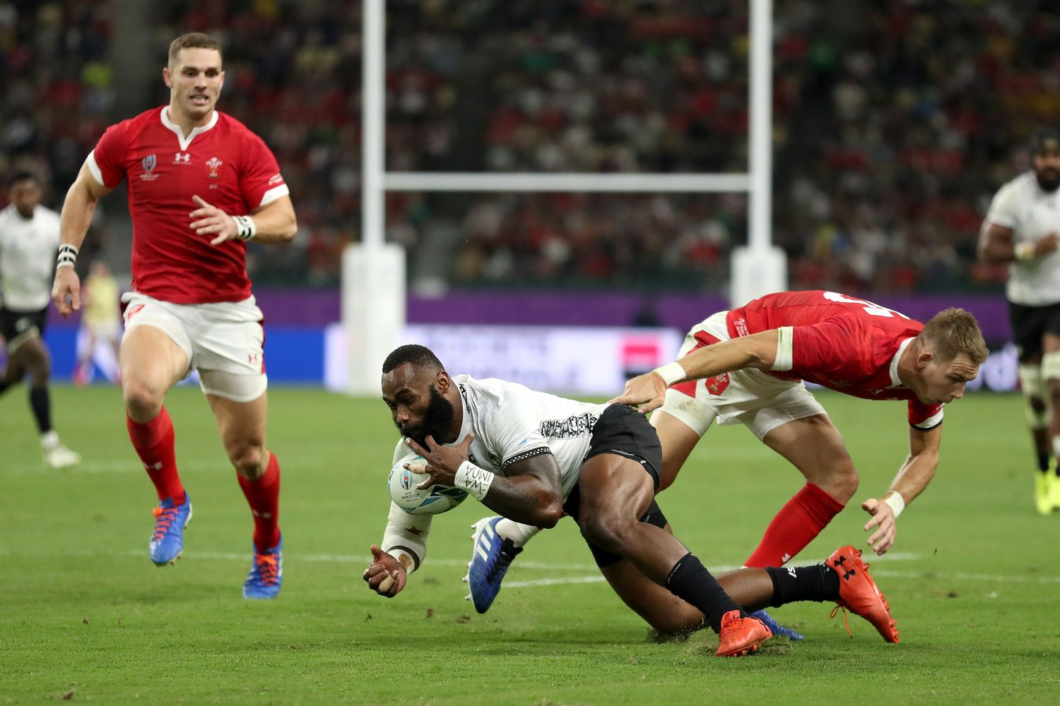 Wales v Fiji - Rugby World Cup 2019: Pool D