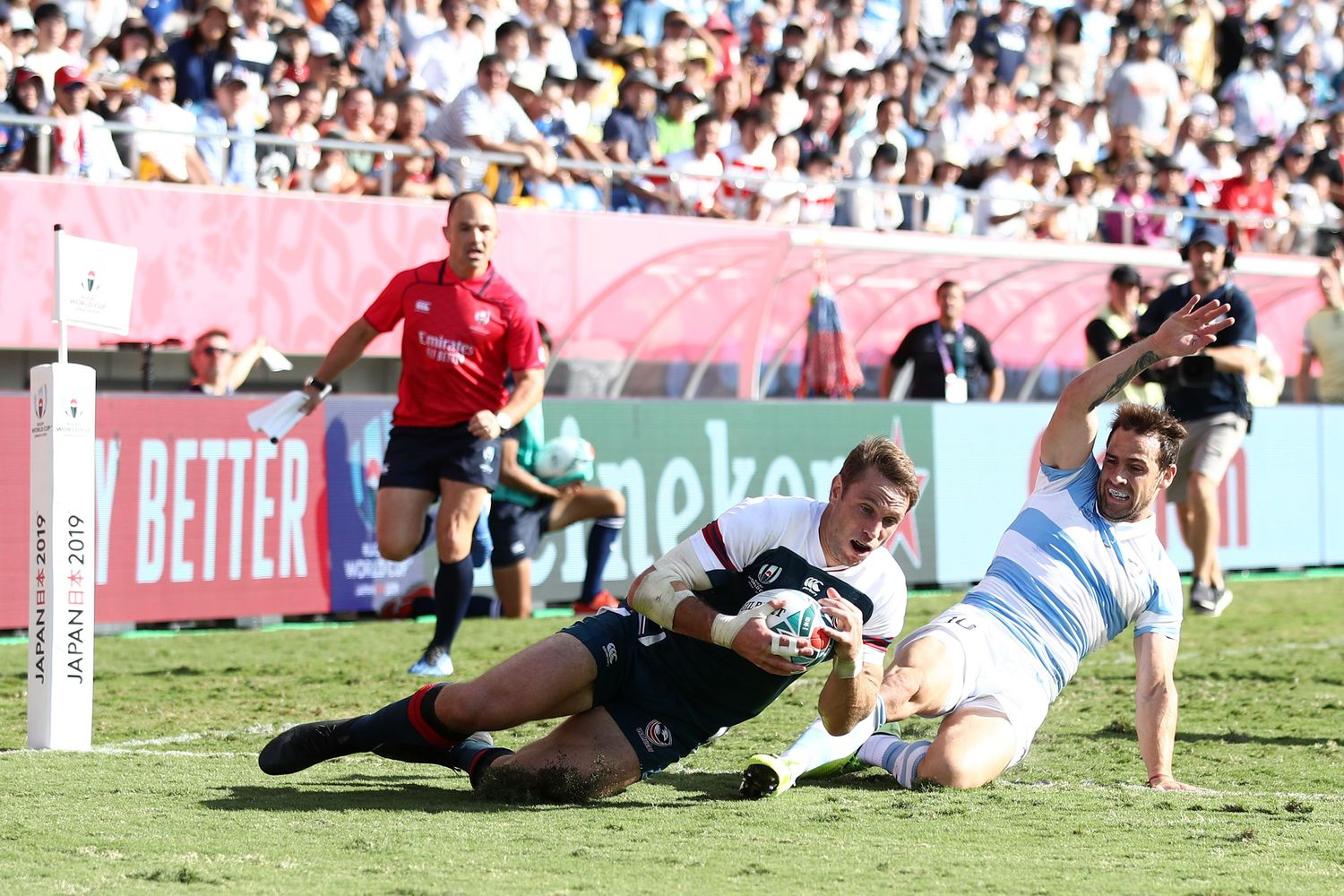Argentina v USA - Rugby World Cup 2019: Pool C