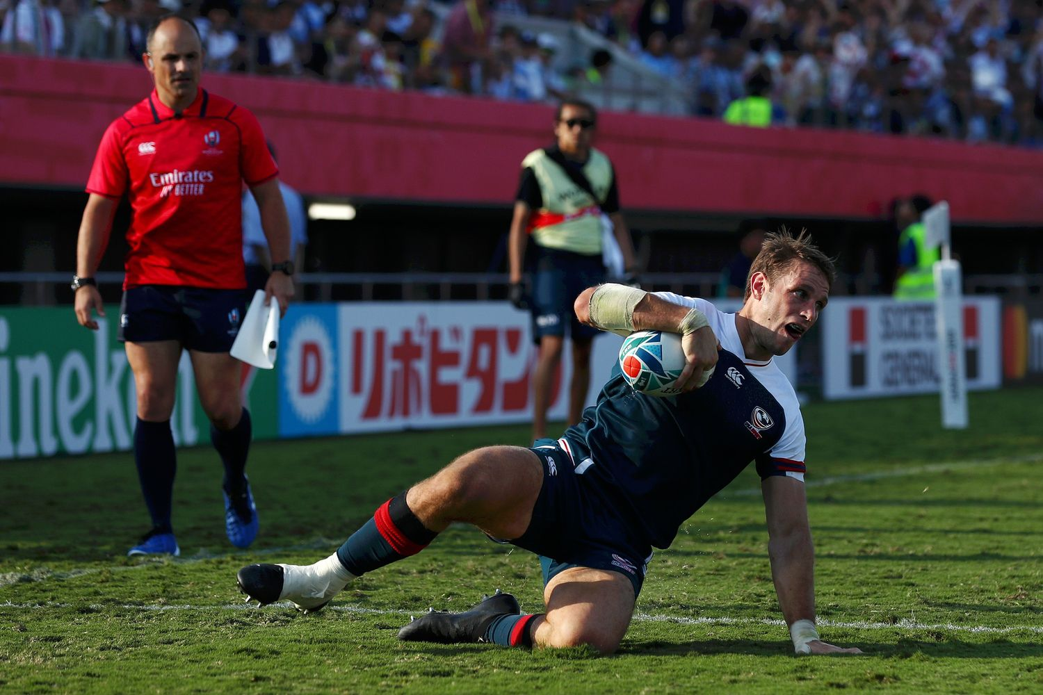 Blaine Scully, Argentina v USA - Rugby World Cup 2019: Pool C