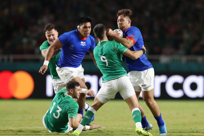 アイルランドVサモア-ラグビーワールドカップ2019:プールA