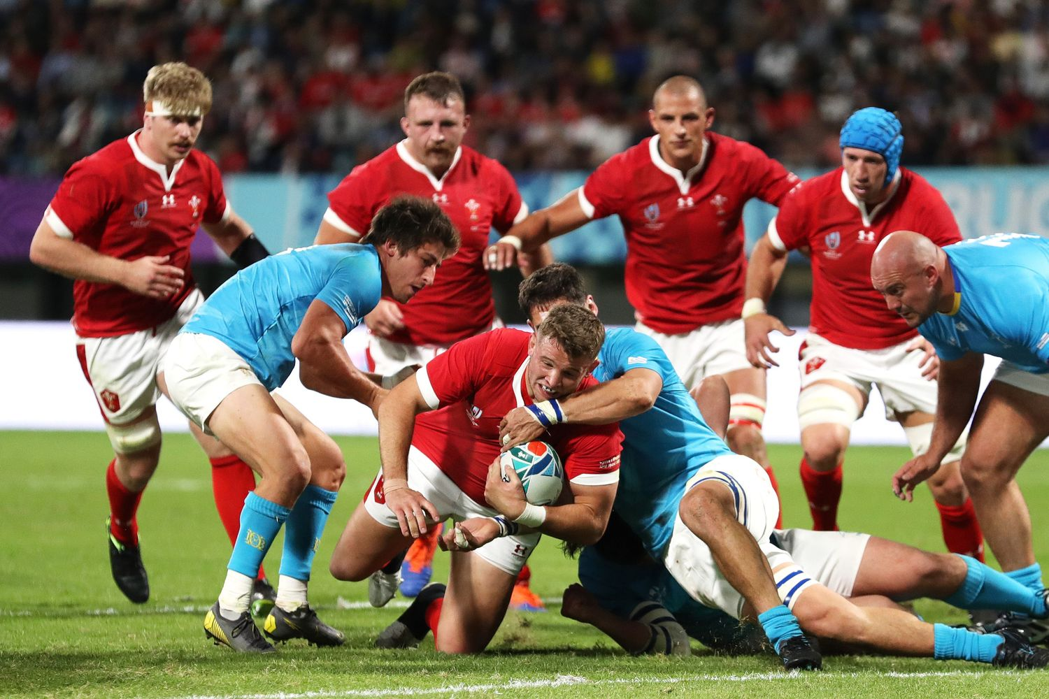 Gales vs Uruguay - Rugby World Cup 2019: Grupo D