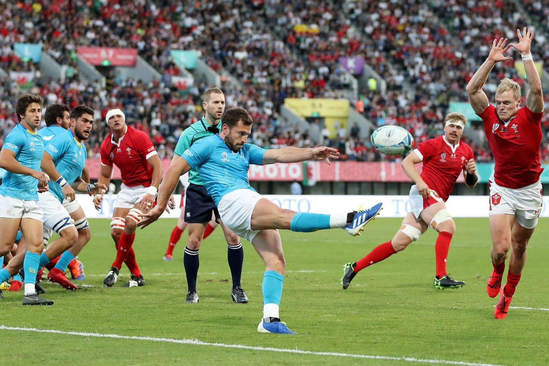 ウェールズVウルグアイ-ラグビーワールドカップ2019:プールD