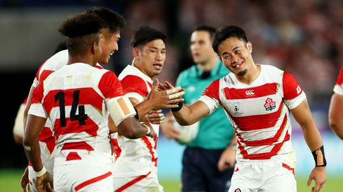 Highlights: Japan v Scotland