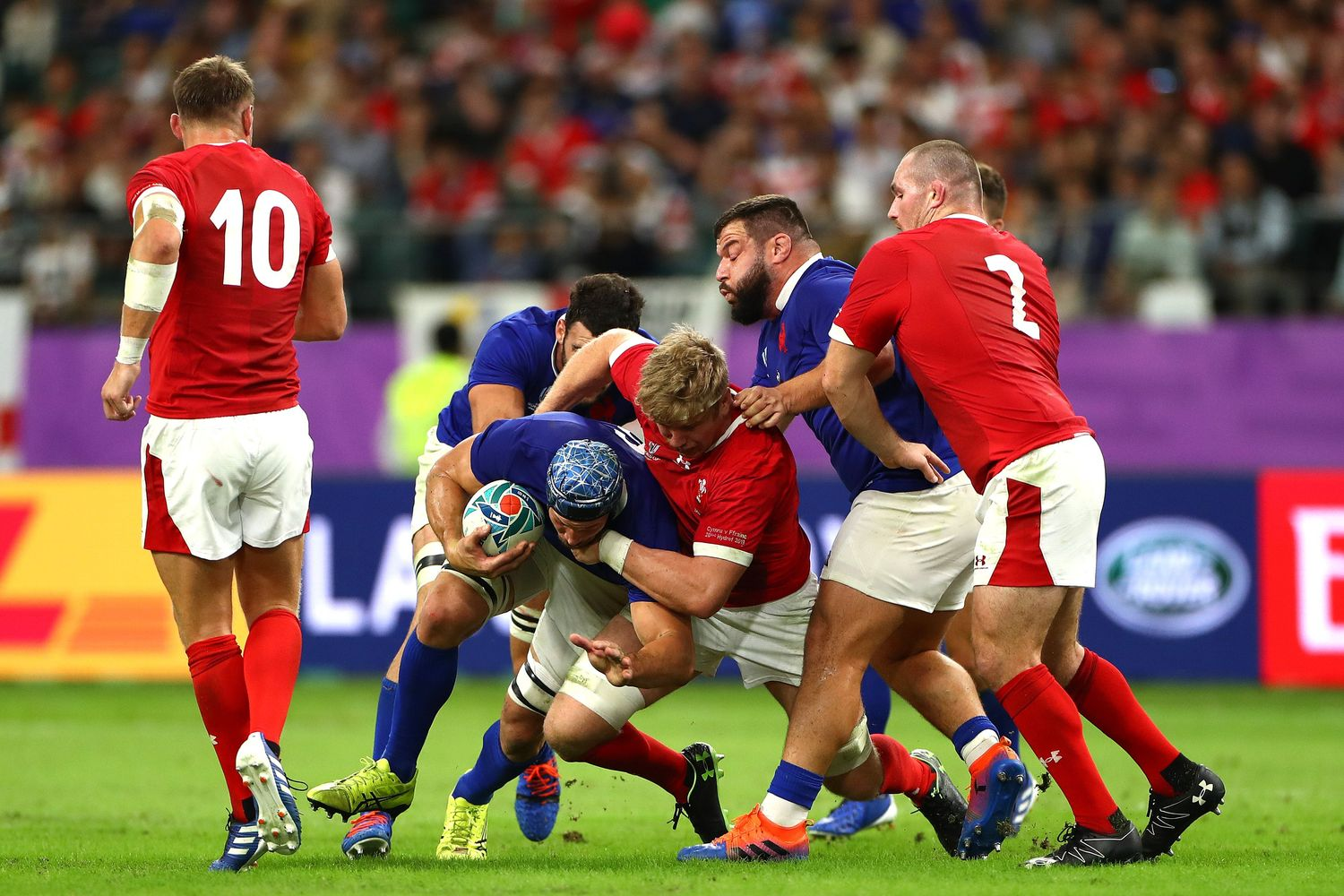 Wales v France - Rugby World Cup 2019: Quarter-Final