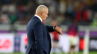 Wales v South Africa - Rugby World Cup 2019 Semi-Final: Wales coach Warren Gatland