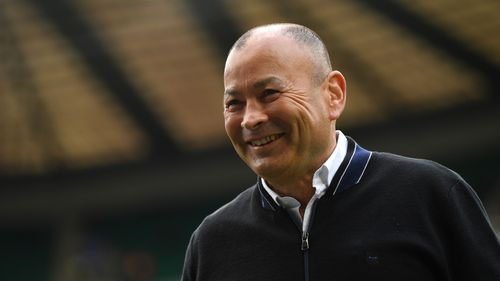 Photo of Eddie Jones at England v Ireland in the Guinness Six Nations