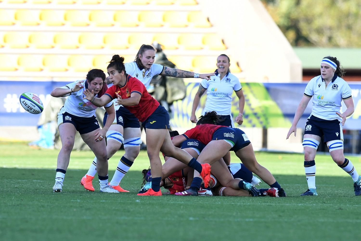 Spain v Scotland - Rugby World Cup 2021 Europe Qualifying Tournament
